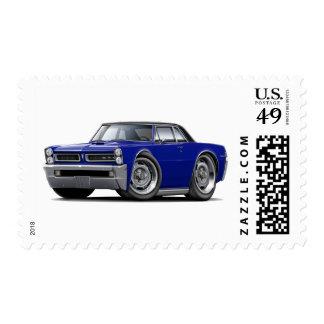 Oscuridad de 1965 GTO - azul - top negro Timbre Postal