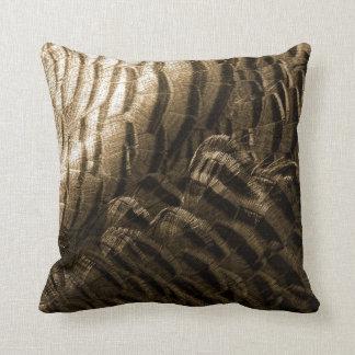 Oscuridad de bronce de la luz de la textura de la cojin