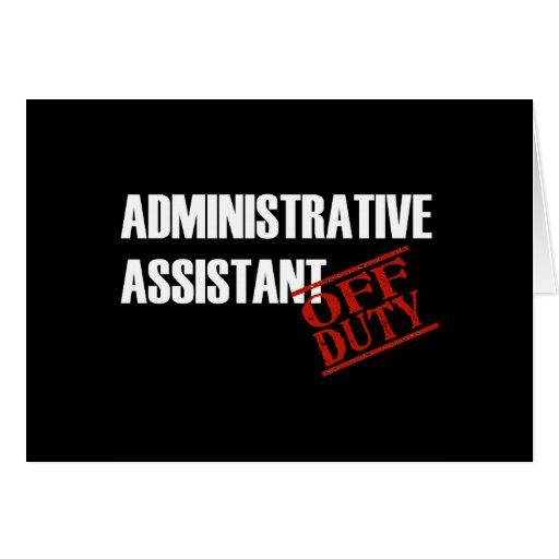 Oscuridad de la ayuda del Admin Felicitación