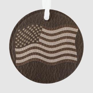 Oscuridad de la bandera de los E.E.U.U. de la Cuer