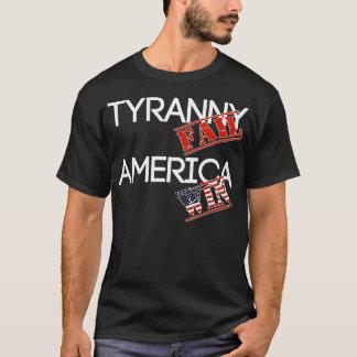 Oscuridad de la camisa del fall de la tiranía