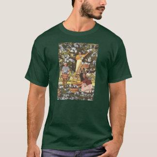 Oscuridad de la camiseta del árbol del dinero