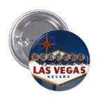 Oscuridad de la muestra de Vegas Pin Redondo De 1 Pulgada