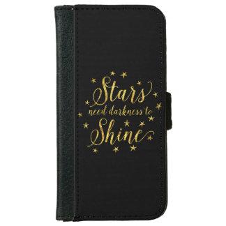 Oscuridad de la necesidad de las estrellas para carcasa de iPhone 6