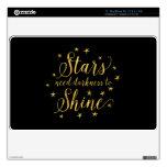 Oscuridad de la necesidad de las estrellas para MacBook air 27,9cm skins