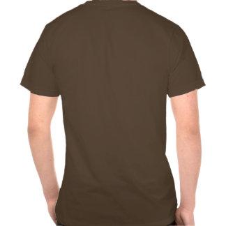 Oscuridad de la tabla periódica del vintage camisetas