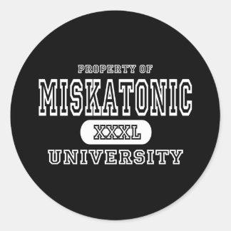 Oscuridad de la universidad de Miskatonic Etiquetas