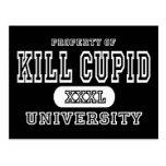 Oscuridad de la universidad del Cupid de la matanz Postal