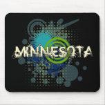 Oscuridad de semitono de Minnesota Mousepad del Gr Alfombrillas De Ratones