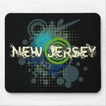 Oscuridad de semitono de New Jersey Mousepad del G Tapetes De Raton