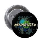 Oscuridad de semitono del botón de Minnesota del G Pin