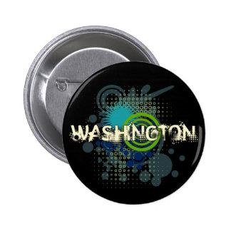 Oscuridad de semitono del botón de Washington del  Pin