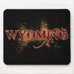 Oscuridad de Wyoming Mousepad del Grunge de la san Alfombrilla De Ratones