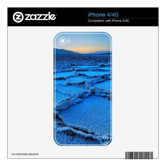 oscuridad, Death Valley, California iPhone 4 Skin