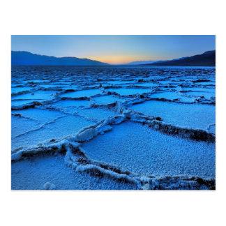 oscuridad, Death Valley, California Postales