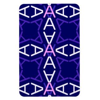 Oscuridad del azul de AaParade Imanes