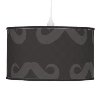 Oscuridad del bigote lámpara de techo