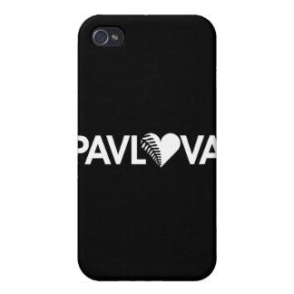 Oscuridad del corazón del helecho de Pavlova iPhone 4 Cobertura