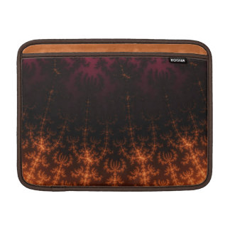 Oscuridad del fractal que brilla intensamente - fundas macbook air