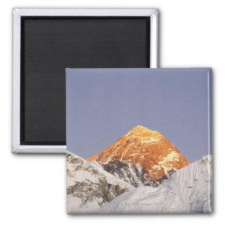 Oscuridad en el monte Everest, Nepal Imán Cuadrado
