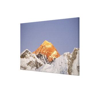 Oscuridad en el monte Everest Nepal Impresión En Lona