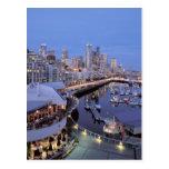 Oscuridad en el puerto de Bell en Seattle, Postal