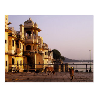 Oscuridad en Ganghaur Ghat, Udaipur, Rajasthán, la Postales