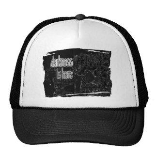 oscuridad gorras de camionero