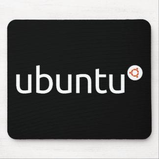 Oscuridad Mousepad de Ubuntu Tapete De Ratones