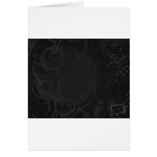 Oscuridad perpetua, celestial tarjeta de felicitación