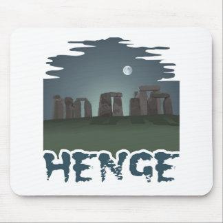 Oscuridad por claro de luna misterioso: Stonehenge Alfombrillas De Raton