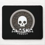 Oscuridad punky linda de Alaska Mousepad del cráne Alfombrilla De Raton