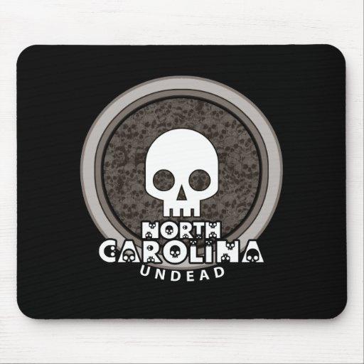 Oscuridad punky linda de Carolina del Norte Mousep Alfombrillas De Ratón