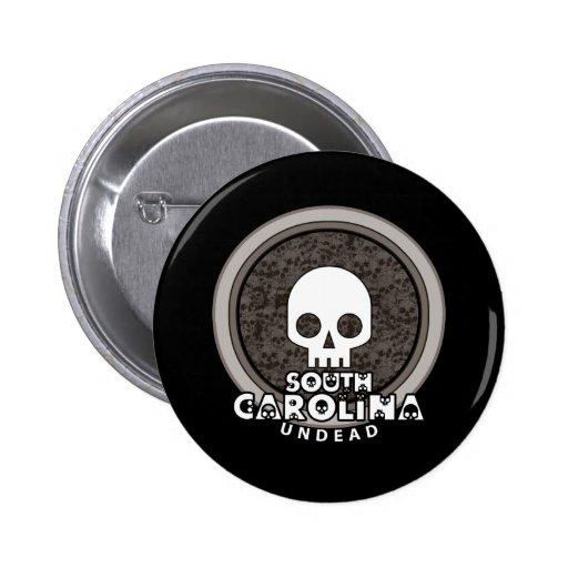 Oscuridad punky linda del botón de Carolina del Su