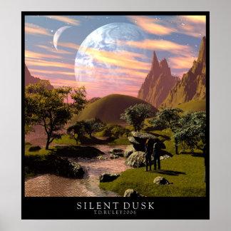 Oscuridad silenciosa póster