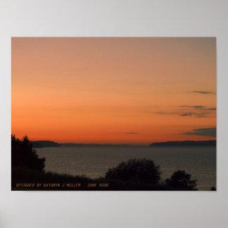 Oscuridad sobre Puget Sound Impresiones