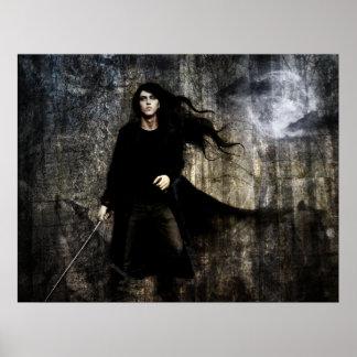 Oscuridad unas: Ulric Póster