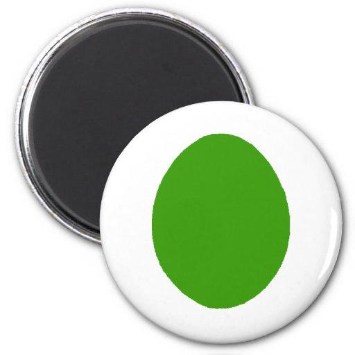 Oscuridad verde sólida del huevo los regalos de Za Imanes