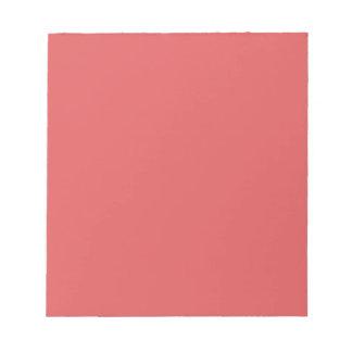 ~ OSCURO AGRIDULCE (de un color de color salmón Blocs De Papel