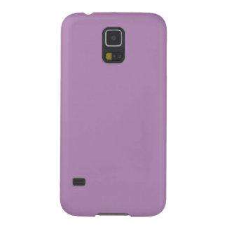 ~ OSCURO del CARDO (o color sólido purpúreo claro) Carcasa De Galaxy S5