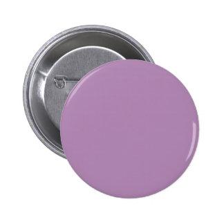 ~ OSCURO del CARDO (o color sólido purpúreo claro) Pin Redondo De 2 Pulgadas