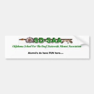 OSDSAA Alumni's do have FUN here.... Bumper Sticker