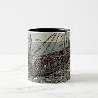 Oseberg ship mug