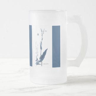 Oseille des Prés Frosted Glass Beer Mug