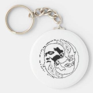 O'Sensei Basic Round Button Keychain