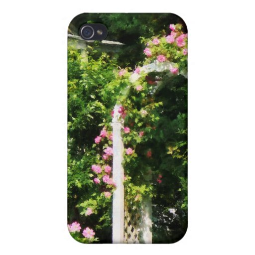 oses On Trellis iPhone 4/4S Case