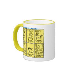 Osgar und Adolf Go Hunting mug (A. D. Condo Art)