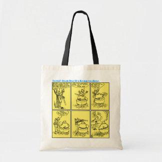 Osgar und Adolf Go Hunting tote bag (A. D. Condo)