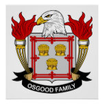 Osgood Family Crest Poster