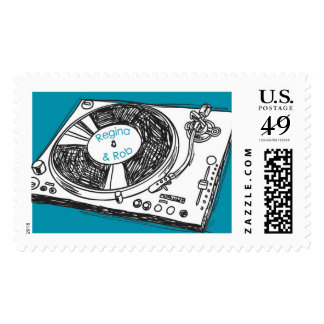 Osgood Save the Dates Postage Stamp